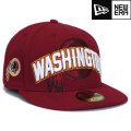 NFL 2012 59FIFTYドラフトキャップ レッドスキンズ New Era Washington Redskins 59FIFTY 2012 Draft Cap