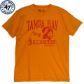 NFL FadeawayビンテージTシャツ バッカニアーズ(オレンジ) '47 Brand Tampa Bay Buccaneers Fadeaway Vintage T-Shirt