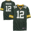 NFL Gameジャージ アーロン・ロジャース パッカーズ(グリーン) Nike Aaron Rodgers Green Bay Packers Game Jersey - Green
