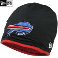 NFL サイドライン Tech ニットキャップ ビルズ New Era Buffalo Bills Sideline Tech Knit Cap - Black/Red