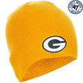 NFL ベーシック カフレス ニットキャップ パッカーズ(ゴールド) '47 Brand Green Bay Packers Cuffless Beanie - Gold