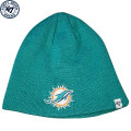 NFL ベーシック カフレス ニットキャップ ドルフィンズ(アクア) '47 Brand Miami Dolphins Cuffless Beanie - Aqua