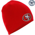 NFL ベーシック カフレス ニットキャップ フォーティナイナーズ(スカーレット) '47 Brand 49ers Cuffless Beanie - Scarlet
