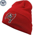 NFL ベーシック カフド ニットキャップ バッカニアーズ(レッド) '47 Brand Tampa Bay Buccaneers Cuffed Beanie - Red