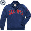 NFL Blitzプルオーバー スウェットシャツ ジャイアンツ '47 Brand New York Giants Royal Blitz 1/4 Zip Pullover Sweatshirt