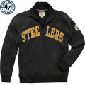 NFL Blitzプルオーバー スウェットシャツ スティーラーズ '47 Brand Pittsburgh Steelers Black Blitz 1/4 Zip Pullover Sweatshirt