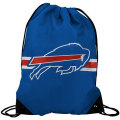 NFL チームロゴ バックパック ビルズ Buffalo Bills Royal Blue Team Logo Drawstring Backpack