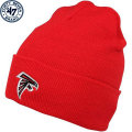NFL ベーシック カフド ニットキャップ ファルコンズ(レッド) 47 Brand Atlanta Falcons Cuffed Beanie - Red