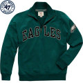 NFL Blitzプルオーバー スウェットシャツ イーグルス '47 Brand Philadelphia Eagles Green Blitz 1/4 Zip Pullover Sweatshirt