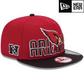 NFL 2013 9Fiftyドラフトキャップ カーディナルス New Era Arizona Cardinals 2013 Draft 9FIFTY Snapback Cap