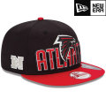 NFL 2013 9Fiftyドラフトキャップ ファルコンズ New Era Atlanta Falcons 2013 Draft 9FIFTY Snapback Cap