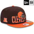NFL 2013 9Fiftyドラフトキャップ ブラウンズ New Era Cleveland Browns 2013 Draft 9FIFTY Snapback Cap