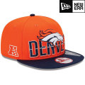 NFL 2013 9Fiftyドラフトキャップ ブロンコス New Era Denver Broncos 2013 Draft 9FIFTY Snapback Cap