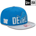 NFL 2013 9Fiftyドラフトキャップ ライオンズ New Era Detroit Lions 2013 Draft 9FIFTY Snapback Cap