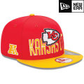 NFL 2013 9Fiftyドラフトキャップ チーフス New Era Kansas City Chiefs 2013 Draft 9FIFTY Snapback Cap