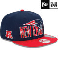 NFL 2013 9Fiftyドラフトキャップ ペイトリオッツ New Era New England Patriots 2013 Draft 9FIFTY Snapback Cap
