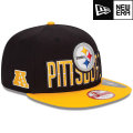 NFL 2013 9Fiftyドラフトキャップ スティーラーズ New Era Pittsburgh Steelers 2013 Draft 9FIFTY Snapback Cap