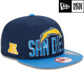 NFL 2013 9Fiftyドラフトキャップ チャージャース New Era San Diego Chargers 2013 Draft 9FIFTY Snapback Cap