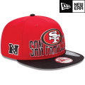 NFL 2013 9Fiftyドラフトキャップ フォーティナイナーズ New Era San Francisco 49ers 2013 Draft 9FIFTY Snapback Cap
