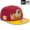 NFL 2013 9Fiftyドラフトキャップ レッドスキンズ New Era Washington Redskins 2013 Draft 9FIFTY Snapback Cap