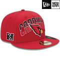 NFL 2013 59FIFTYドラフトキャップ カーディナルス New Era Arizona Cardinals 2013 Draft 59FIFTY Cap