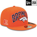 NFL 2013 59FIFTYドラフトキャップ ブロンコス New Era Denver Broncos 2013 Draft 59FIFTY Cap