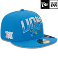NFL 2013 59FIFTYドラフトキャップ ライオンズ New Era Detroit Lions 2013 Draft 59FIFTY Cap