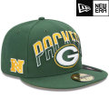 NFL 2013 59FIFTYドラフトキャップ パッカーズ New Era Green Bay Packers 2013 Draft 59FIFTY Cap