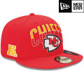 NFL 2013 59FIFTYドラフトキャップ チーフス New Era Kansas City Chiefs 2013 Draft 59FIFTY Cap