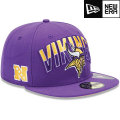 NFL 2013 59FIFTYドラフトキャップ バイキングス New Era Minnesota Vikings 2013 Draft 59FIFTY Cap