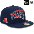 NFL 2013 59FIFTYドラフトキャップ ペイトリオッツ New Era New England Patriots 2013 Draft 59FIFTY Cap