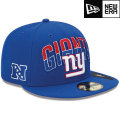 NFL 2013 59FIFTYドラフトキャップ ジャイアンツ New Era New York Giants 2013 Draft 59FIFTY Cap