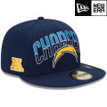 NFL 2013 59FIFTYドラフトキャップ チャージャース New Era San Diego Chargers 2013 Draft 59FIFTY Cap