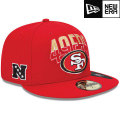 NFL 2013 59FIFTYドラフトキャップ フォーティナイナーズ New Era San Francisco 49ers 2013 Draft 59FIFTY Cap