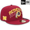 NFL 2013 59FIFTYドラフトキャップ レッドスキンズ New Era Washington Redskins 2013 Draft 59FIFTY Cap