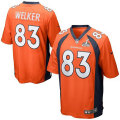 NFLスーパーボウルXLVIII Gameジャージ ウェス・ウェルカー ブロンコス(オレンジ) Nike Wes Welker Denver Broncos Super Bowl