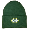 NFL ベーシック カフドニットキャップ パッカーズ(グリーン) NFL TEAM APPAREL Green Bay Packers Green Cuffed Beanie