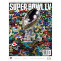 NFL第55回スーパーボウル公式プログラム Tampa Bay Buccaneers vs. Kansas City Chiefs Super Bowl LV Matchup Program