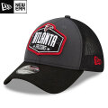NFL 2021ドラフト39THIRTYキャップ ファルコンズ New Era Atlanta Falcons Graphite/Black 2021 NFL Draft 39THIRTY Cap