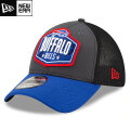 NFL 2021ドラフト39THIRTYキャップ ビルズ New Era Buffalo Bills Graphite/Royal 2021 NFL Draft 39THIRTY Cap