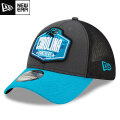 NFL 2021ドラフト39THIRTYキャップ パンサーズ New Era Carolina Panthers Graphite/Blue 2021 NFL Draft 39THIRTY Cap