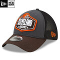 NFL 2021ドラフト39THIRTYキャップ ブラウンズ New Era Cleveland Browns Graphite/Brown 2021 NFL Draft 39THIRTY Cap
