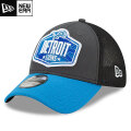 NFL 2021ドラフト39THIRTYキャップ ライオンズ New Era Detroit Lions Graphite/Blue 2021 NFL Draft 39THIRTY Cap