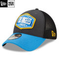 NFL 2021ドラフト39THIRTYキャップ チャージャース New Era Los Angeles Chargers Graphite/Powder Blue 2021 NFL Draft 39THIRTY Cap