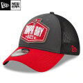 NFL 2021ドラフト39THIRTYキャップ バッカニアーズ New Era Tampa Bay Buccaneers Graphite/Red 2021 NFL Draft 39THIRTY Cap