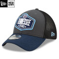 NFL 2021ドラフト39THIRTYキャップ タイタンズ New Era Tennessee Titans Graphite/Navy 2021 NFL Draft 39THIRTY Cap