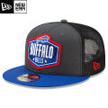 NFL 2021ドラフト9FIFTYキャップ ビルズ New Era Buffalo Bills Graphite/Royal 2021 NFL Draft 9FIFTY Snapback Cap