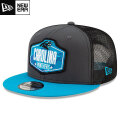 NFL 2021ドラフト9FIFTYキャップ パンサーズ New Era Carolina Panthers Graphite/Blue 2021 NFL Draft 9FIFTY Snapback Cap