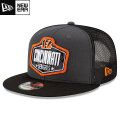 NFL 2021ドラフト9FIFTYキャップ ベンガルズ New Era Cincinnati Bengals Graphite/Black 2021 NFL Draft 9FIFTY Snapback Cap