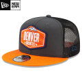 NFL 2021ドラフト9FIFTYキャップ ブロンコス New Era Denver Broncos Graphite/Orange 2021 NFL Draft 9FIFTY Snapback Cap